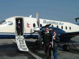 Marla and Tom in Katmandu