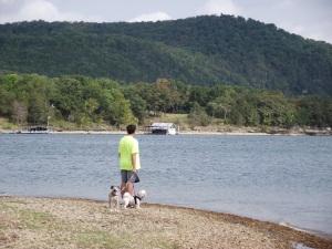 At Stockton Lake